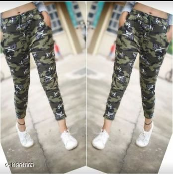 Sizzlacious U.S ARMY Camouflage Green Star Print Women's Jegging