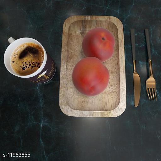Solid Mango Wood Premium Tray/Platter