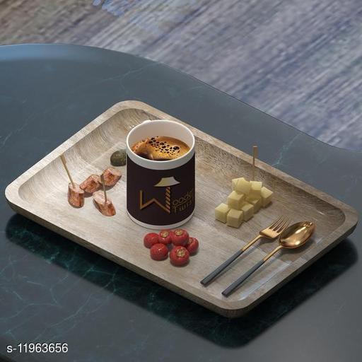 Classic Solid Mango Wood Premium Tray/Platter