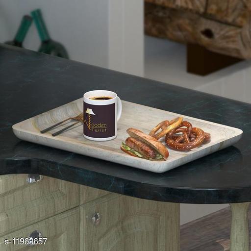 Posh Solid Mango Wood Premium Tray/Platter
