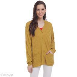 HaltonHills Full Sleeves Cardigans For Women