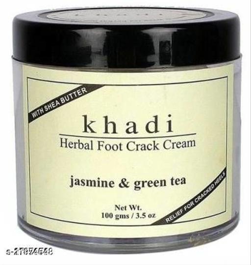 Khadi Herbal Jasmine & Green Tea Herbal Foot Crack Cream With Sheabutter