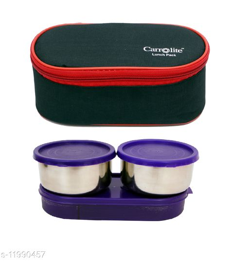 3 in 1 Black-Red (All Purple) Lunchbox