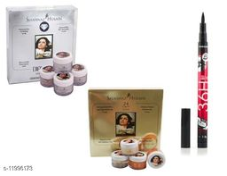 Shahnaaz hussain Gold Daimond facial kit liner