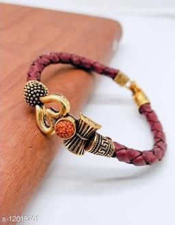 Shiv design trishul mens kada(Bracelet)