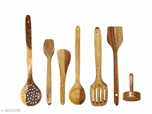 WOODEN COOCKING SPOONS
