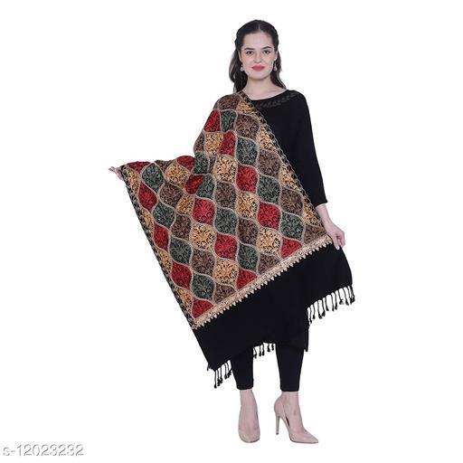 New Kashmiri Matka Embroidry Shawl (40 /80 )