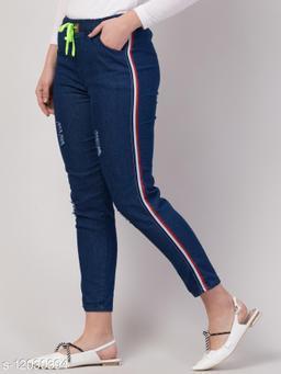 Kyla Exclusive Side Striped Jeans For Women