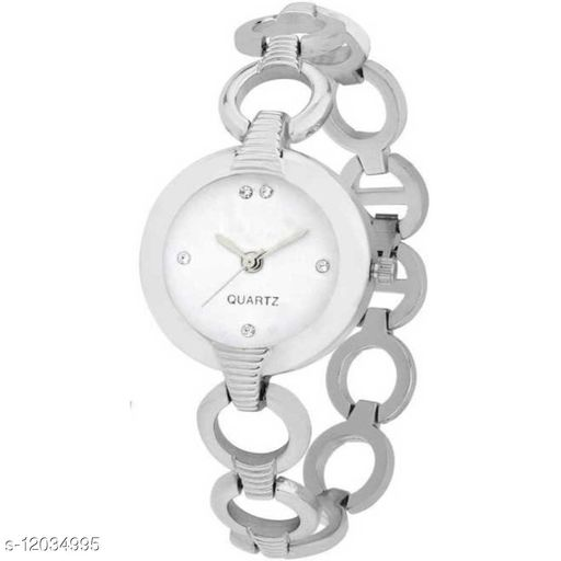 MMD New Stylish Fashion Designer White Color dial With Designer Analog Analog Women Watch