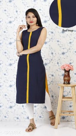 ALC Creation Stylish Polyester Women's Kurti