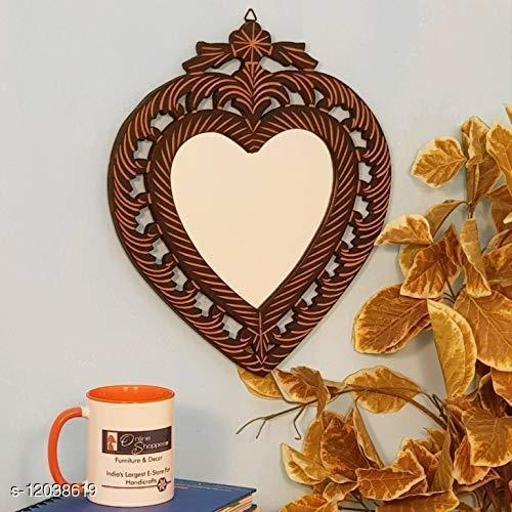 Elegant Wooden Wall Mirror