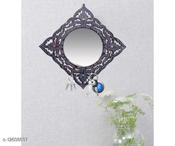 Decorative Beautiful Design Wall Mirrorr With 6 Key