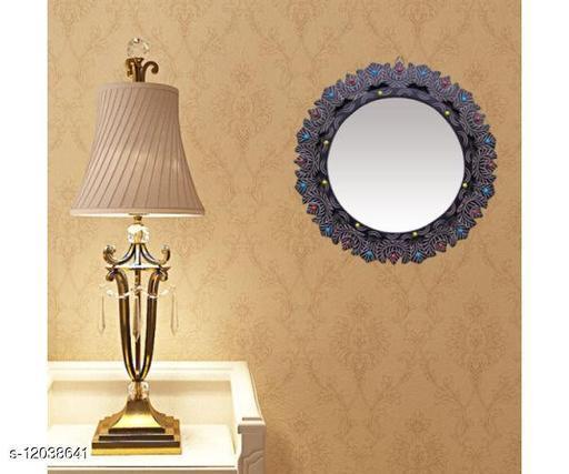 MDF Decorative Wall Mirrorr Round Shape