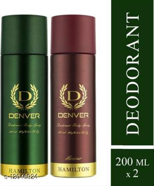 Combo Of 2 Denver Deodorants  Hamilton And Honour Combo