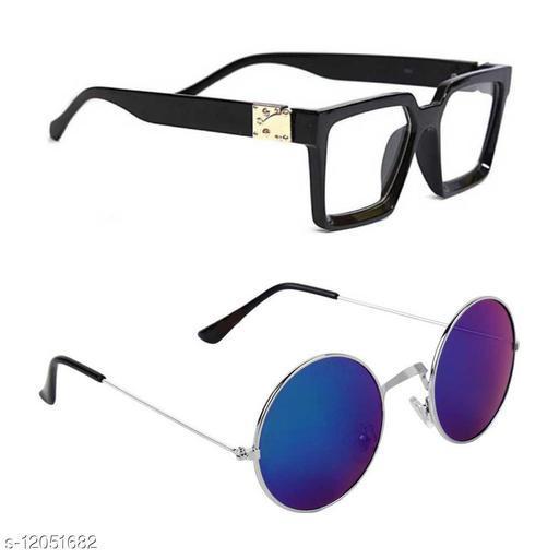 Eyekart Combo of 2 Sunglasses Form Men and Women