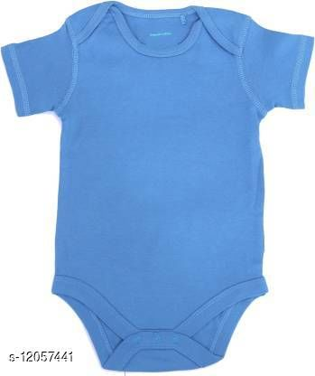 Icable Baby Boys and Baby Girls Printed Rompers Organic Cotton Made in India