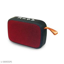 Charge G2 Bluetooth Wireless Stereo Portable Speaker with FM, Micro SD and USB Slot (Red)