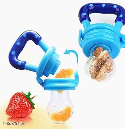 Fresh Food Nibbler Silicone Baby Infant Fruit Feeder Dummy Pacifier Newborn Nipple (Multicolour)