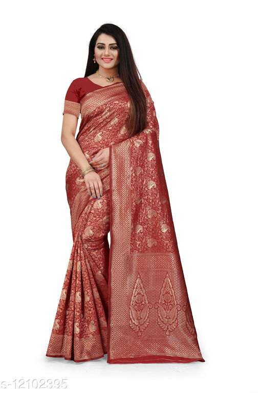 Love Fashion Banarasi Jacquard sarees
