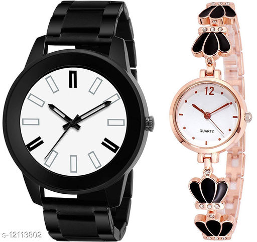 K34 & L791 Pack of 2 Attractive Combo With Steel Belt Watch Unique Dial With Unique And Exclusive New Analog Watches For Men & Women