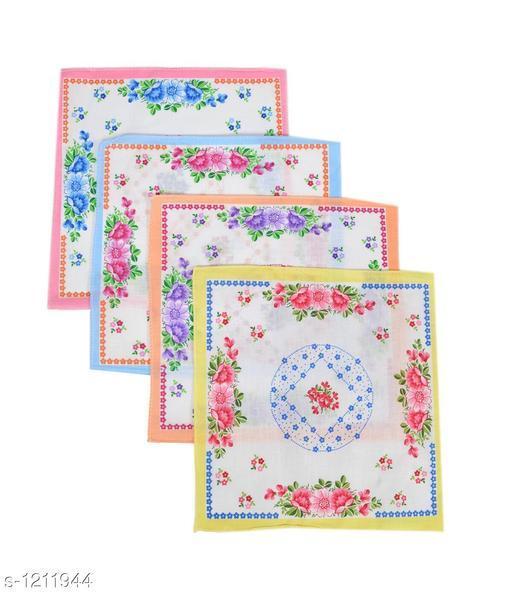 Elite Comfy Cotton Handkerchiefs