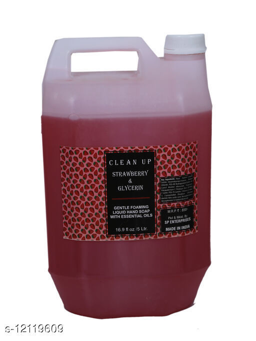 Others Hand Wash 5 ltr Hand Wash 5 ltr Country of Origin: India Sizes Available: Free Size    Catalog Name: Hand Wash CatalogID_2315525 C82-SC1306 Code: 065-12119609-