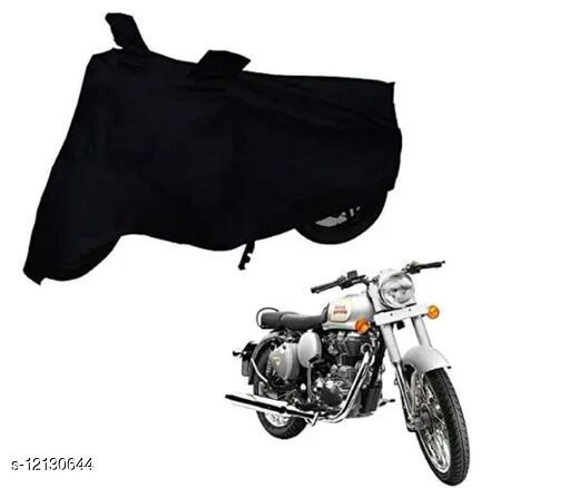 Al.Mo Two Wheeler Daily Use Scooty & Bike Cover Quality Grey