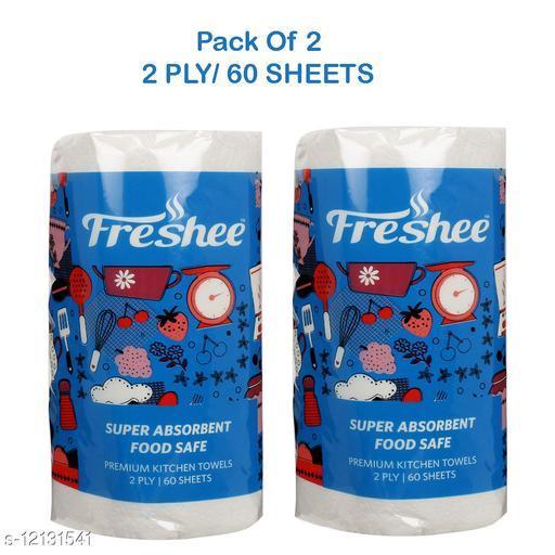 60 Sheet 2 In 1 Kitchen Towel Tissue Paper