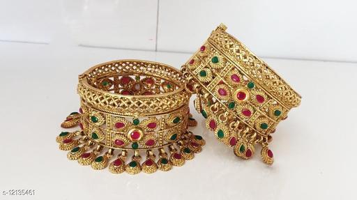 Uniq Design brass gold Plated Bangle/patla