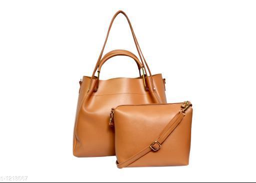 Classy Women's Synthetic Leather Handbags