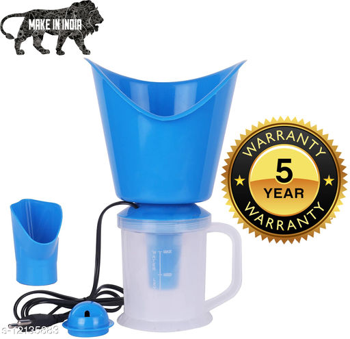 JMO27Deals Vaporizer, Facial Steamer, Steam Inhaler, Cold Cough Block Nose & Facial Sauna (Pack of 1, Blue)