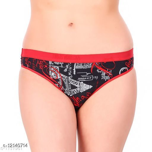 Women Hipster Multicolor Cotton Panty (Pack of 2)