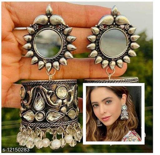 Premium quality brass celebrity inspired jhumki earrings for women & girls
