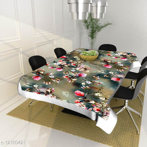 Newleaf Trends dining table cover 4 seater square ( 40x60 Inches )