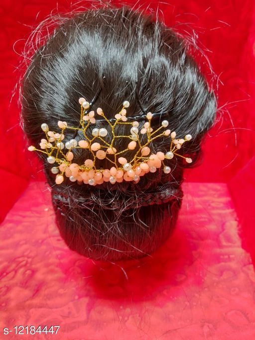 Tools & Accessories  Beautiful Women Hair Accessorie Product Name: Rajkanya Trendy  Gold Plated Hair Clip Comb/ Hair Accesories Product Name: Hair Clip Material: Plastic Multipack: 1 Sizes: Free Size  Sizes Available: Free Size    Catalog Name: Beautiful Women Hair Accessorie CatalogID_2332099 C50-SC1250 Code: 093-12184447-