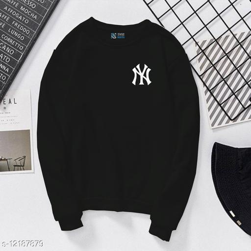 New York Printed Casual T-Shirt| Full Sleeves Printed T-Shirt for Women's and Girls | Women T-Shirts