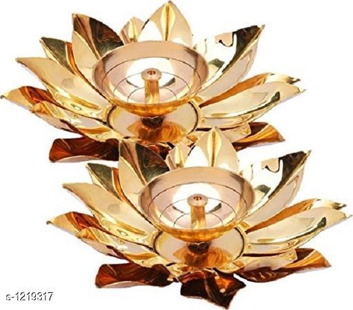 Traditional Brass Diya