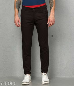 fashlook coffee casual pant for men