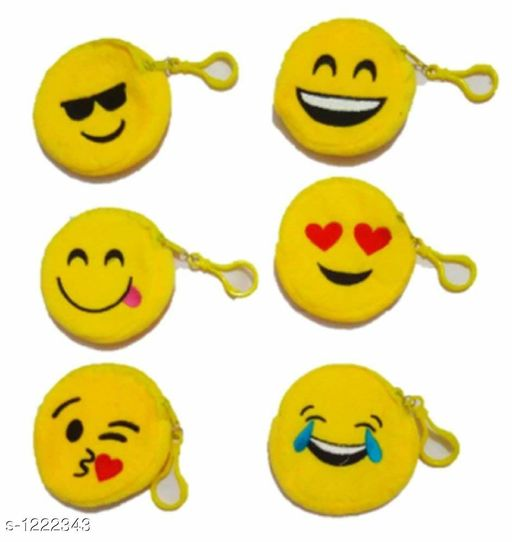 Useful Smiley Pouches  Pack Of 2