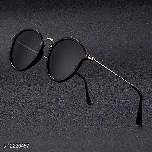 Arzonai Trendy Fashionable Oval Unisex Round Sunglasses