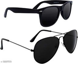 Arzonai Trendy Must Have Pack of 2 Sunglasses for Men and Boys