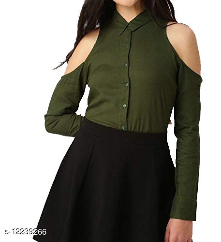 top and shirt Pack of 1 Color Olive
