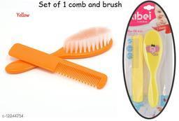 Tiny Tycoonz Combo Baby Comb and Brush Set/ Baby Comb Set/ Baby Comb and Brush (0-6 months) (1 piece each)