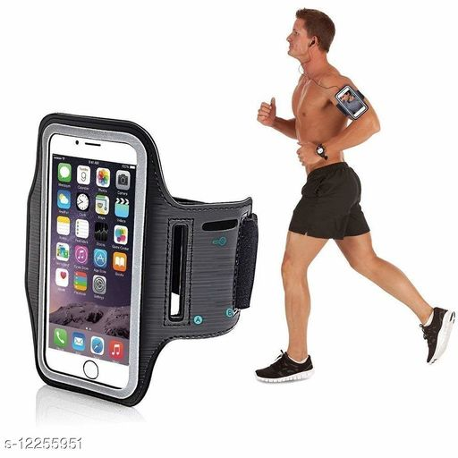 Mobile Armband Pouch with Key Earphone Holder-1