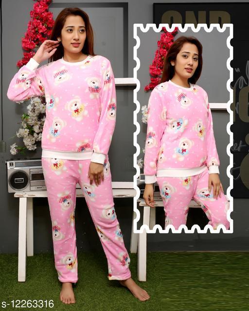 Women Wool Nightsuit