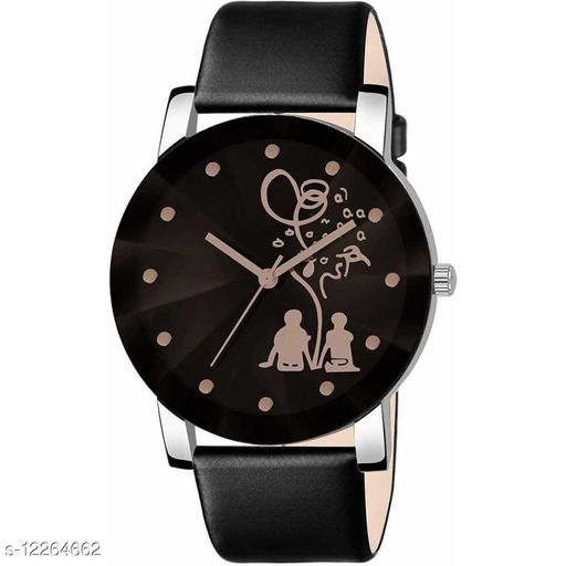 MMD Crystal Tree Couple Print -Men Premium Quality Designer Fashion Wrist Analog Watch