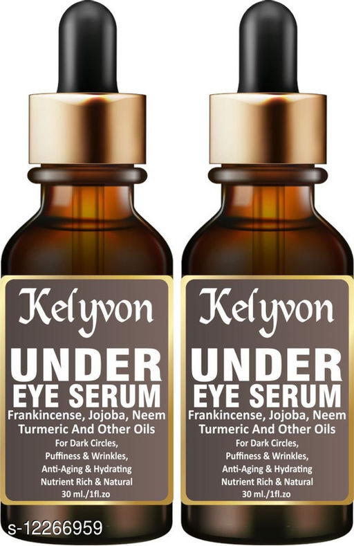 100% Pure Acid Hydra Boost Under Eye Recovery Serum, Reduces Dark Circles, Puffiness & Wrinkles 60 ml  (60 ml)