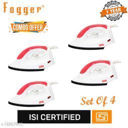 Fogger Star Pink 1000-Watt Dry Iron (Set Of 4)