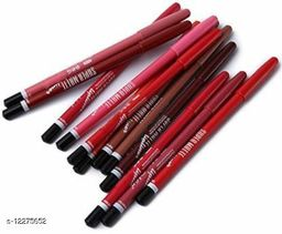 Long-lasting Lip Liner (Set Of 12,colour)