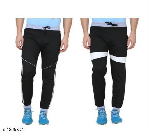 Trendy Casual Hosiery Track Pants (Pack Of 2)